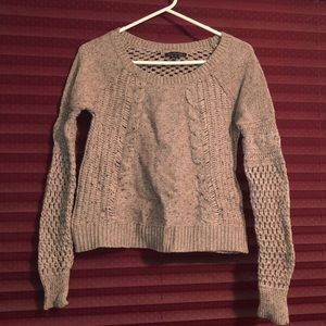 Neutral American Eagle sweater.